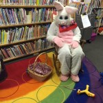 The Easter Bunny from WJQZ Radio Station