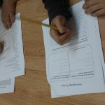 Children then created Zines to share what they know about Mars with others.