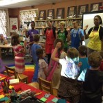 Art Force 5 closed our Summer Reading Program.