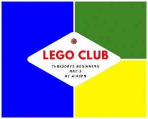 Lego Club May