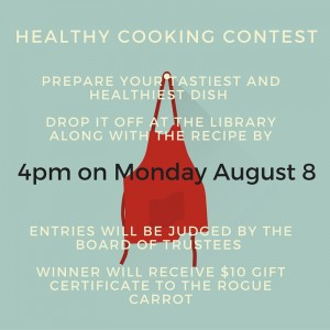 Healthy Cooking Contest
