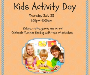 Kids Activity Day