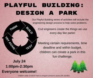 Playful Building- Design a park