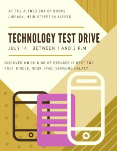 Technology Test Drive