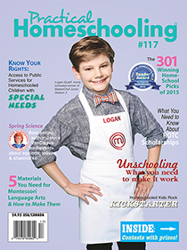 Cover of Practical Homeschooling Magazine