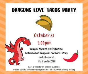 Dragons Love Tacos Party-Ready