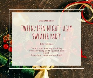 Tween_Teen Night_ Ugly Sweater Party-READY