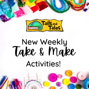 New Take and Make activities every week.